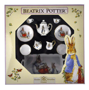 Beatrix Potter Peter Rabbit Dolls' House Porcelain Tea Set Thumbnail 3