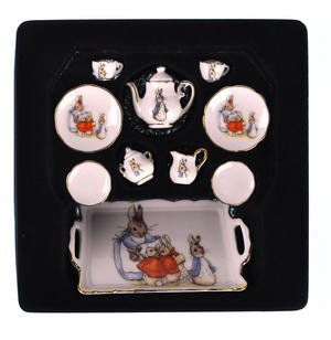 Beatrix Potter Peter Rabbit Dolls' House Porcelain Tea Set Thumbnail 4