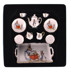 Beatrix Potter Peter Rabbit Dolls' House Porcelain Tea Set Thumbnail 4