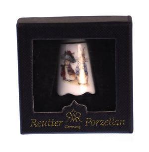 Beatrix Potter Benjamin Bunny & Peter Rabbit Porcelain Thimble Thumbnail 3