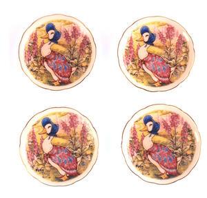 Jemima Puddleduck Porcelain Tea Set and Rose Basket Hamper Thumbnail 6