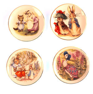 Beatrix Potter Peter Rabbit & Jemima Puddleduck Porcelain Tea Set and Hamper Thumbnail 5