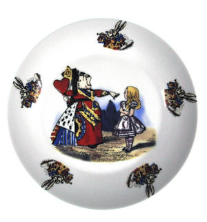 Alice In Wonderland Fine Porcelain Child's Breakfast Set Thumbnail 2