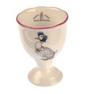 Beatrix Potter Porcelain Eggcup - Jemima Puddleduck Thumbnail 1
