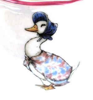 Beatrix Potter Porcelain Eggcup - Jemima Puddleduck Thumbnail 2