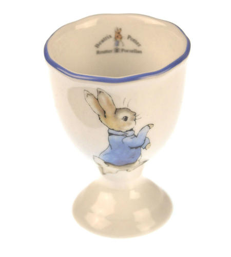 Beatrix Potter Porcelain Eggcup - Peter Rabbit