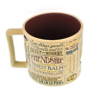 Jane Austen Mug Thumbnail 2
