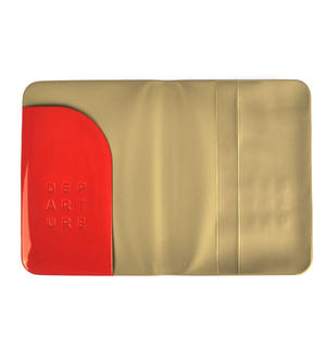 Dep-art-ure Rose PVC Passport Holder - Global Citizen by Alife Design Thumbnail 4
