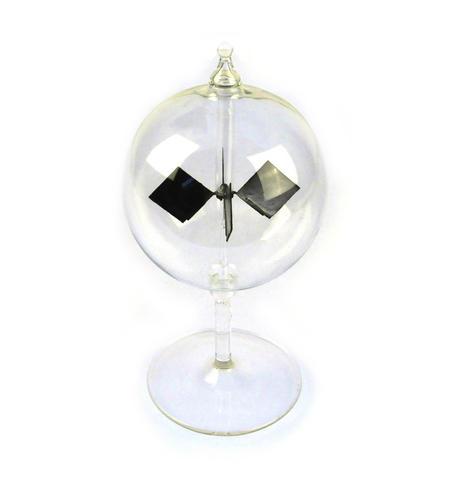 Solar Radiometer -  Replica of Crookes Radio meter Light Mill - Measures Radiant Flux of Electromagnetic Radiation