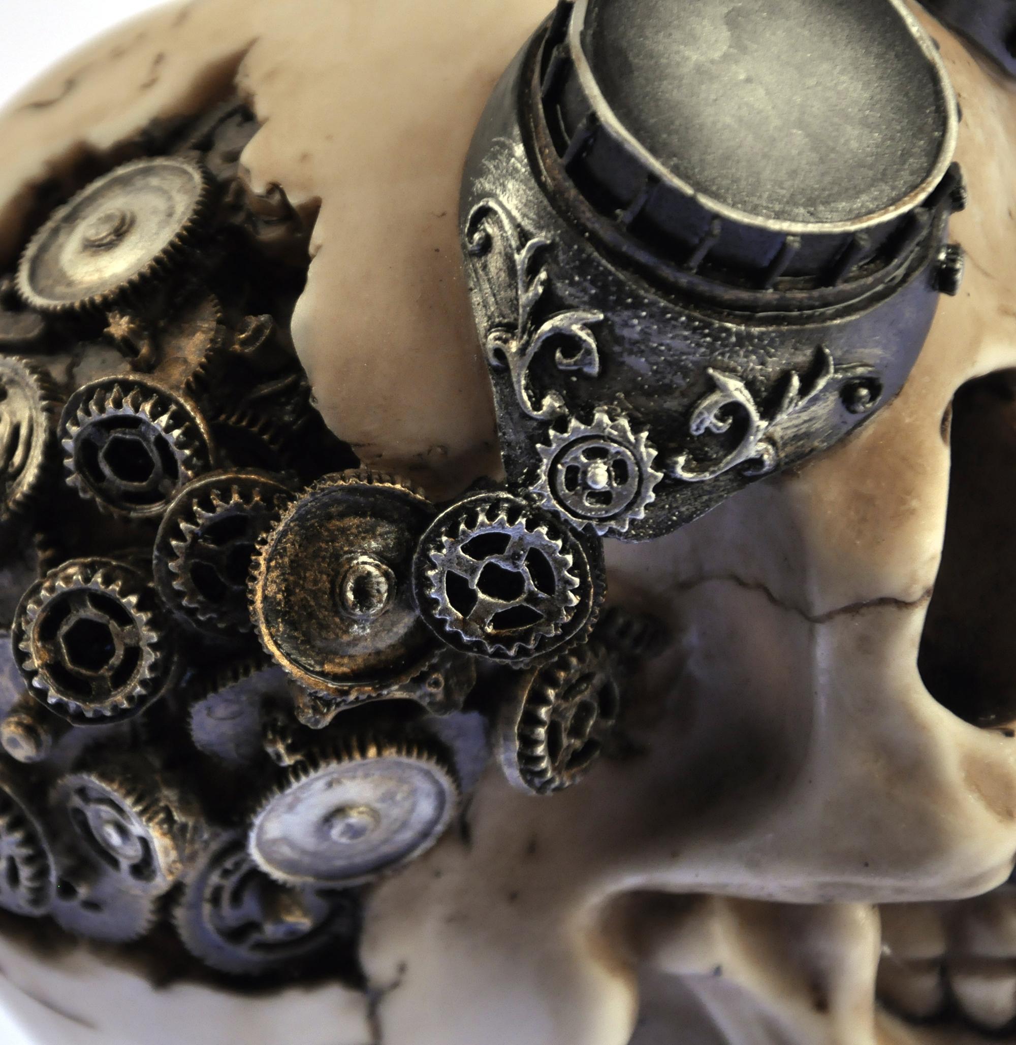 механический череп картинки покорённая