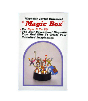Magnetic Magic Box - Circus Clown Magnet Sculpture Thumbnail 2