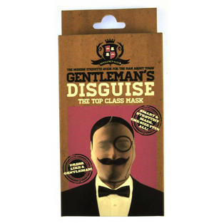 Gentleman's Disguise - One Size Stetchy Full Head Mask Thumbnail 1