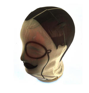 Gentleman's Disguise - One Size Stetchy Full Head Mask Thumbnail 4