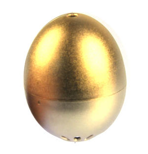 24 Carat Beep Egg Timer - Piep Ei Golden Egg Edition Thumbnail 1