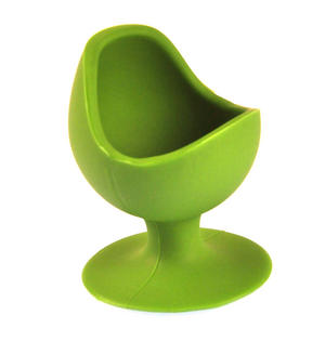 Green Egg Chair - Silicone Zone Collection Egg Cup Thumbnail 1