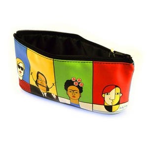 Great Modern Artists Pencil Case feat. Dali Warhol Kahlo Picasso Thumbnail 3