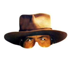 Classic Clint Eastwood / Man With No Name Party Mask Thumbnail 1