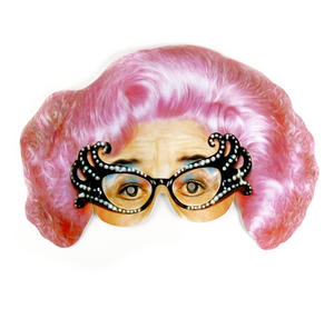 Classic Dame Edna/ Barry Humphries Party Mask Thumbnail 1