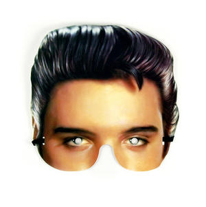 Classic Elvis Presley Party Mask Thumbnail 1