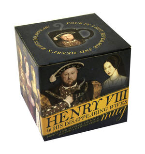 Henry VIII and His Disappearing Wives Heat Change Mug Thumbnail 7