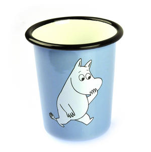 Moomintroll on Light Blue  - Moomin Muurla Enamel Tumbler Thumbnail 2