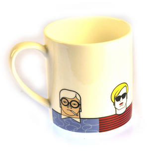 Great Modern Artists Mug - Hockney Mondrian Dali Warhol Picasso Thumbnail 1