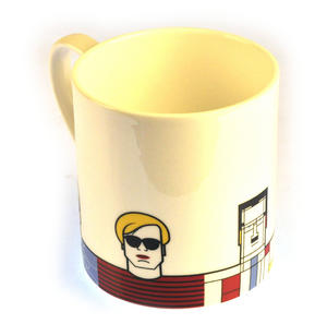 Great Modern Artists Mug - Hockney Mondrian Dali Warhol Picasso Thumbnail 3