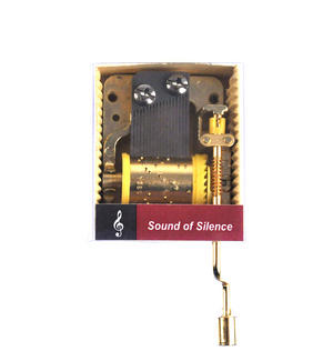 Simon & Garfunkel - Sound of Silence - Handcrank Music Box Thumbnail 1