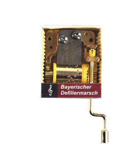 Bayerischer Defiliermarsch - German Military March - Handcrank Music Box