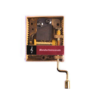 Ludwig van Beethoven - Moonlight Sonata (Mondscheinsonate) - Handcrank Music Box Thumbnail 1