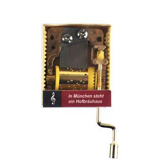 Oktoberfest - In München steht ein Hofbräuhaus - Handcrank Music Box Thumbnail 1