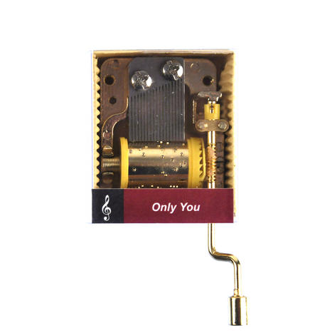 Only You - The Platters - Handcrank Music Box