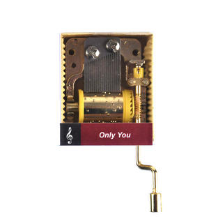 Only You - The Platters - Handcrank Music Box Thumbnail 1