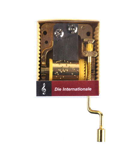 L'International - Socialist Anthem - Handcrank Music Box