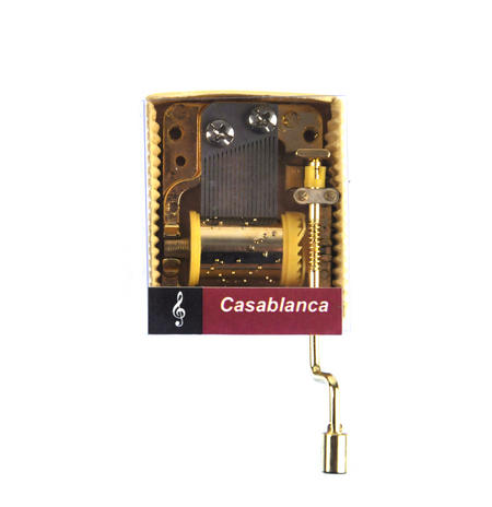 Casablanca - As Time Goes By - Handcrank Music Box