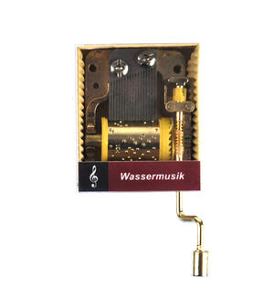 Handel - Water Music (Wassermusik) - Handcrank Music Box Thumbnail 1