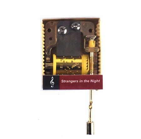 Strangers in the Night- Burt Kaempfert Handcrank Music Box