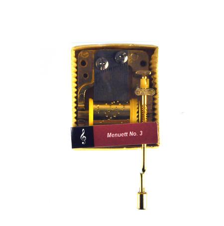 Johann Sebastian Bach - Minuet No.3 (Menuett No.3) - Handcrank Music Box