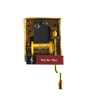 Tea For Two - Handcrank Music Box