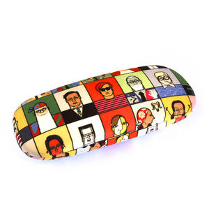 Great Modern Artists Glasses Case - Matisse Hockney Mondrian Indiana O'Keefe