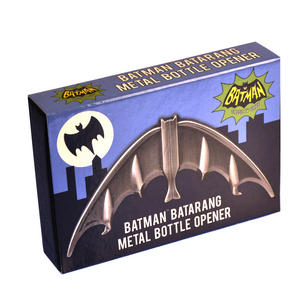 Batman Batarang Solid Metal Magnetic Bottle Opener Thumbnail 3