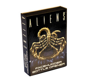 Aliens Facehugger Solid Metal Magnetic Bottle Opener Thumbnail 2