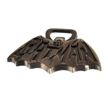 Batman TV Logo Solid Metal Magnetic Bottle Opener
