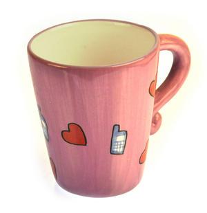 Beautiful Boobs Babe 3D Mug - Phone Lover Thumbnail 2