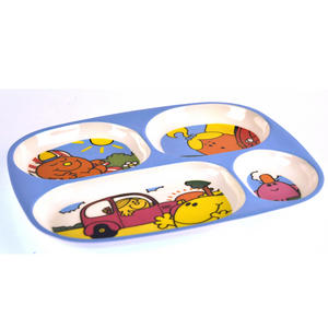Mister Men & Little Miss 4 Compartment Serving Tray Thumbnail 2