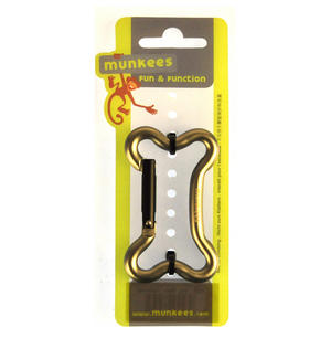 Dogbone Carabiner - Munkees Small Storage - Random Colours Thumbnail 1