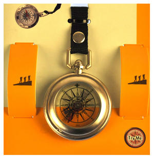 Clip - On Captain Compass
