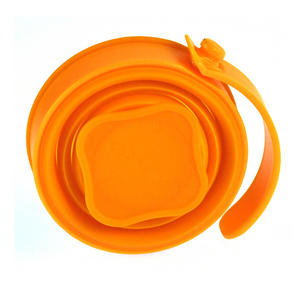 Collapsible Silicone Cup - Munkees Small Storage Thumbnail 1