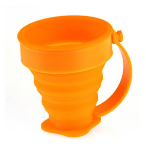 Collapsible Silicone Cup - Munkees Small Storage Thumbnail 3