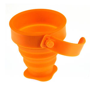 Collapsible Silicone Cup - Munkees Small Storage Thumbnail 4